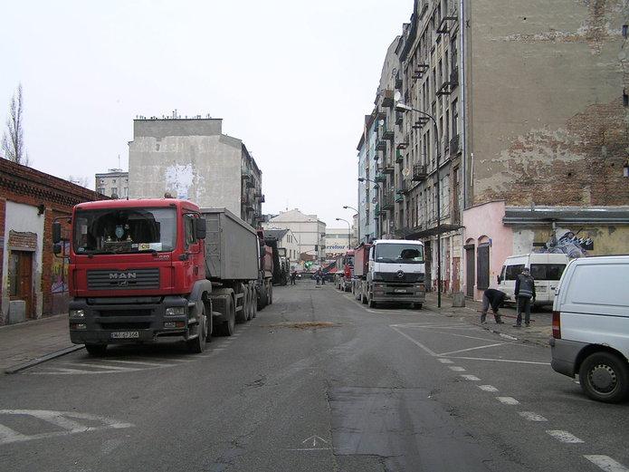 Remont ulicy Brzeskiej