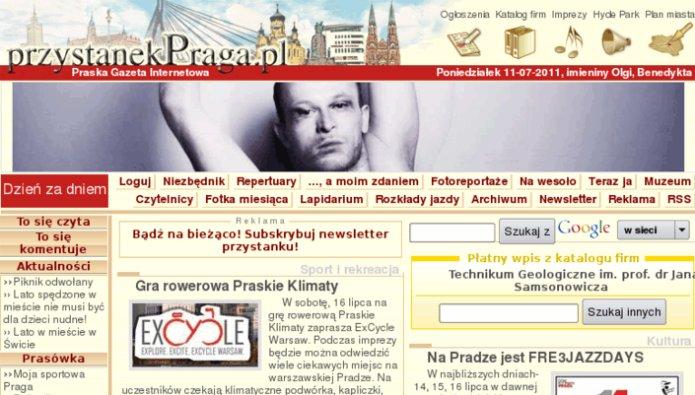 Strona przystanekpraga.pl