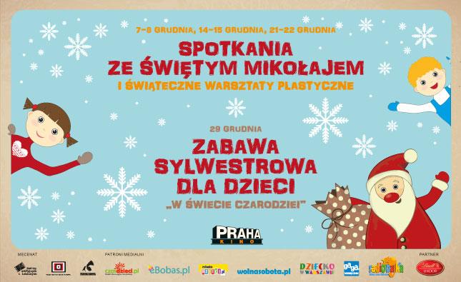 Mikołaj wkinie Praha