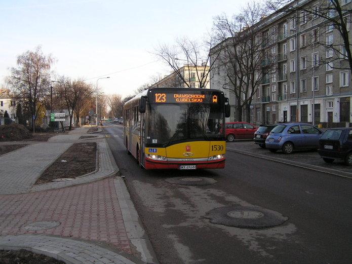 Linia 123 na ulicy Chrzanowskiego