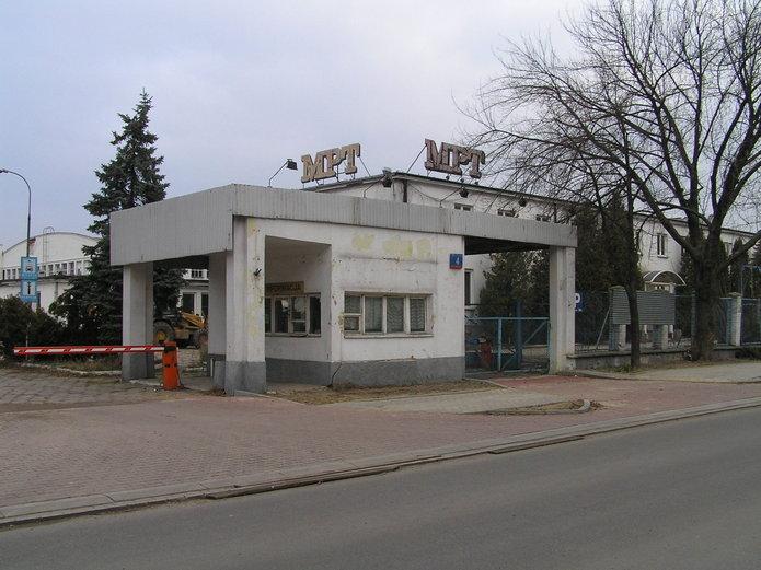 Zabudowania MPT na Chrzanowskiego 4