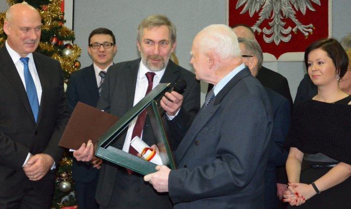 Wręczenie nagród Kamień Kamionka 2012, fot. kamionek.waw.pl