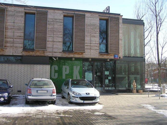 Budynek CPK przy Podskarbińskiej