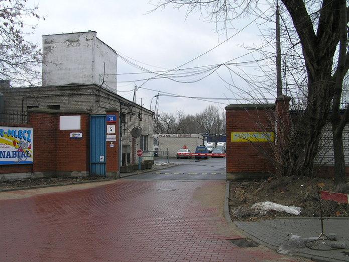 Chrzanowskiego 14 - teren nowej inwestycji