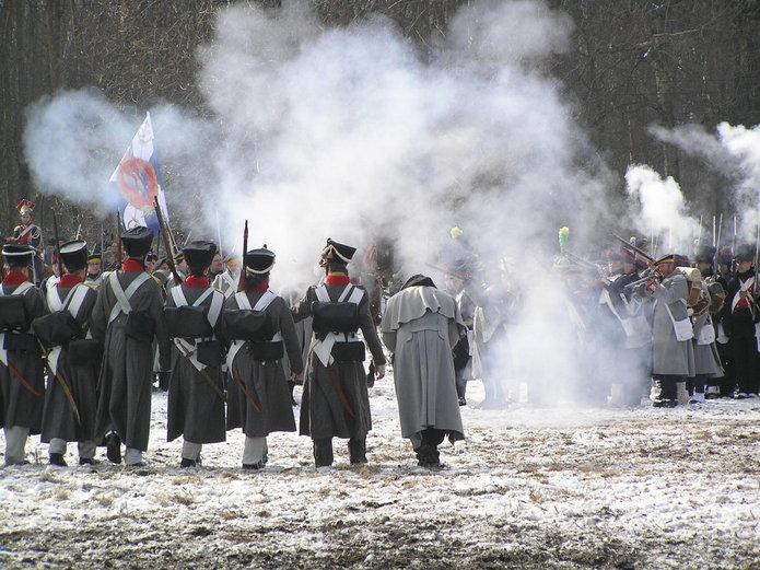 Przebieg inscenizacji Bitwy Grochowskiej