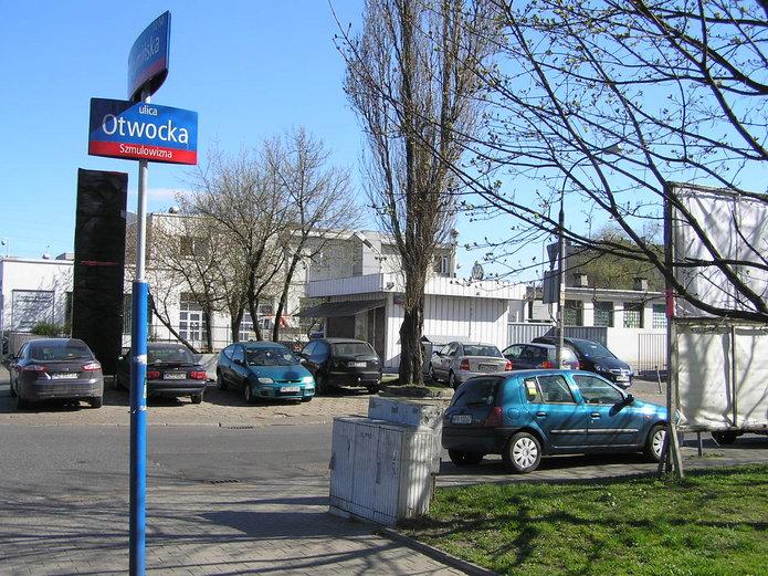 Ulica Otwocka przy Radzymińskiej