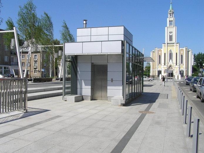 Pawilon na Placu Szembeka