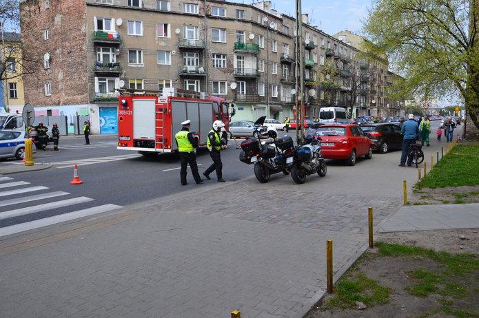 Skrzyżowanie ul. Radzymińskiej iGrodzieńskiej, fot. M. Borowski