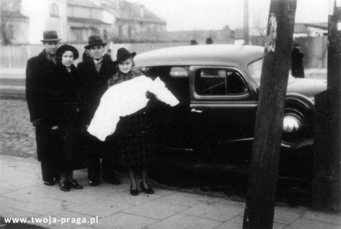 Ulica Grochowska w1938 roku