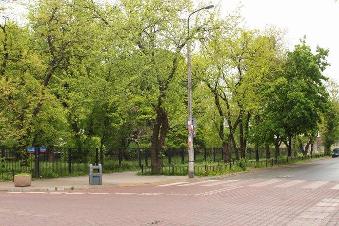 Zielony teren na rogu Siedleckiej iOtwockiej, fot. PSM Michałów