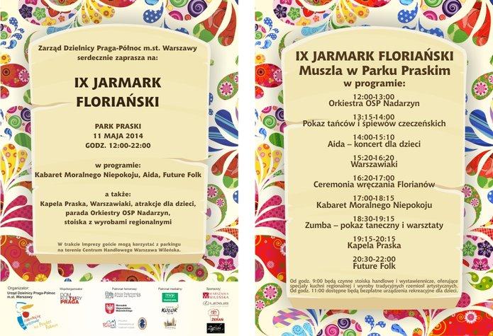Jarmark Floriański 2014 - plakat