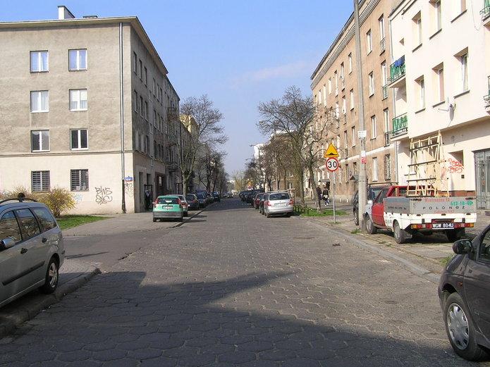 Ulica Kobielska na Grochowie