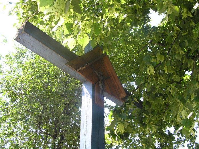 Krzyż na ulicy Zamoyskiego