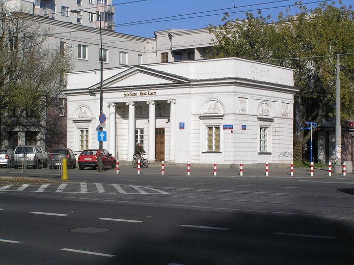 Zabytkowa rogatka Grochowska