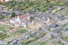 Makieta dawnej Pragi
