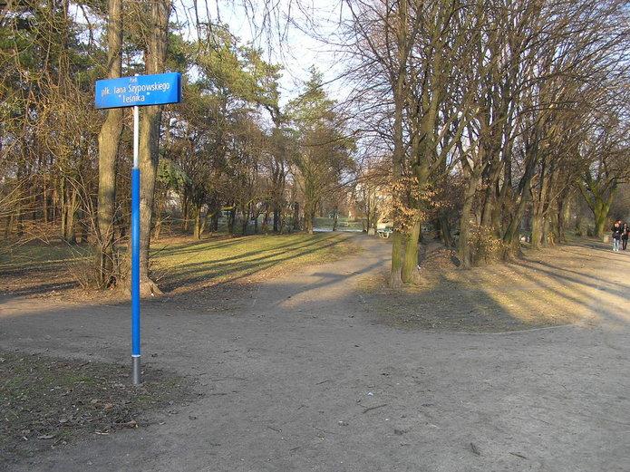 Park Leśnika na Grochowie