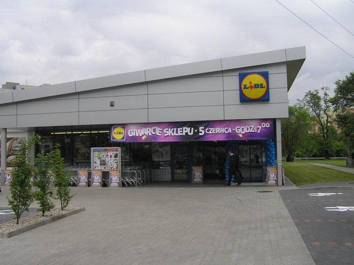 Sklep Lidl na Gocławiu