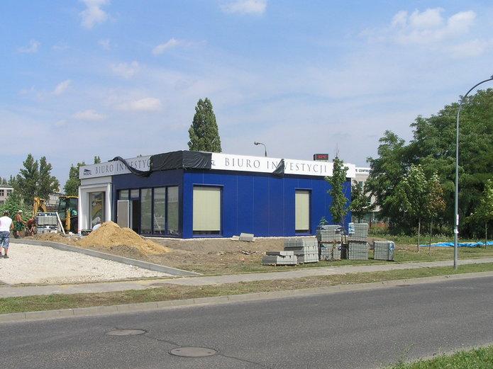 Osiedle Kolorowy Gocławe - biuro sprzedaży
