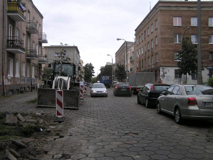 Przebudowa ulica Kobielskiej