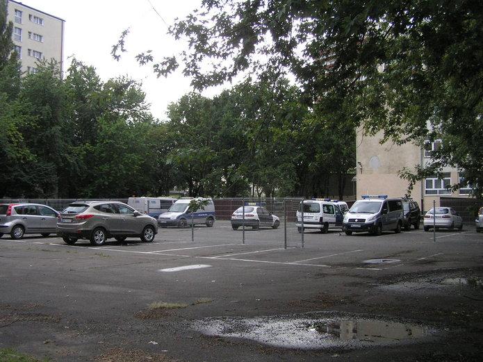 Parking sraży miejskije na Kobielskiej 5