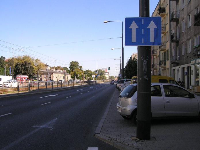 Zmiana organizacji ruchu na Grochowskiej róg Terespolskiej
