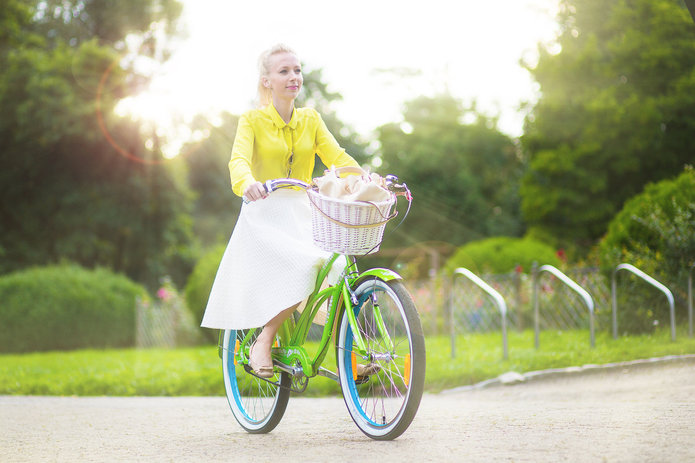 Rower - zielony środek komunikacji