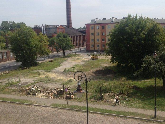 Teren nowej inwestycji przy Szwedzkiej 43