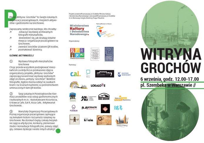 Witryna Grochów - piknik 6 września 2014