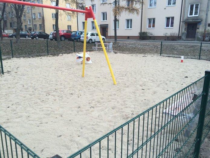 Modernizowany plac zabaw na Pradze Południe, fot. Anna Moszczyńska