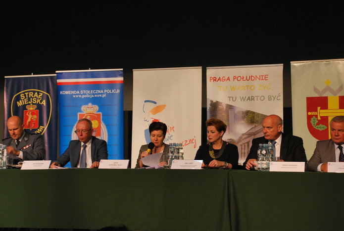 Debata obezpieczeństwie na Pradze Południe, fot. Urząd Dzielnicy Praga Południe