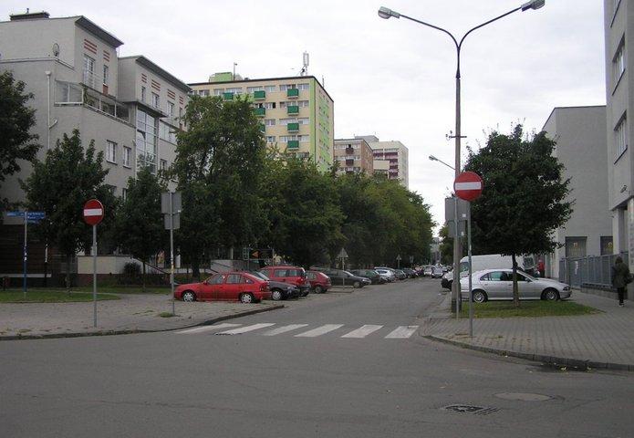 Fragment ulicy Kobielskiej jest jednokierunkowy