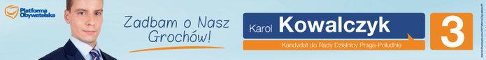Karol Kowalczyk - baner wyborczy