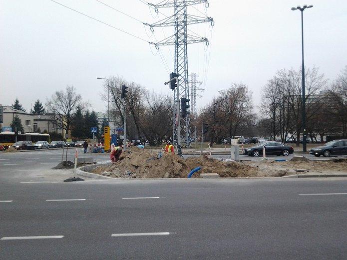 Modernizacaja skrzyżowania