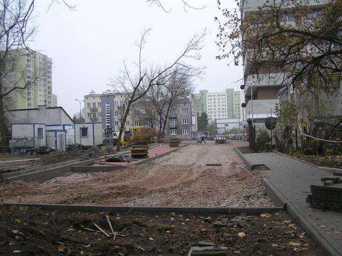 Przebudowa ulicy Bitwy Grochowskiej