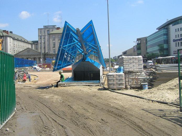 Budowa II linii metra na Pradze Północ