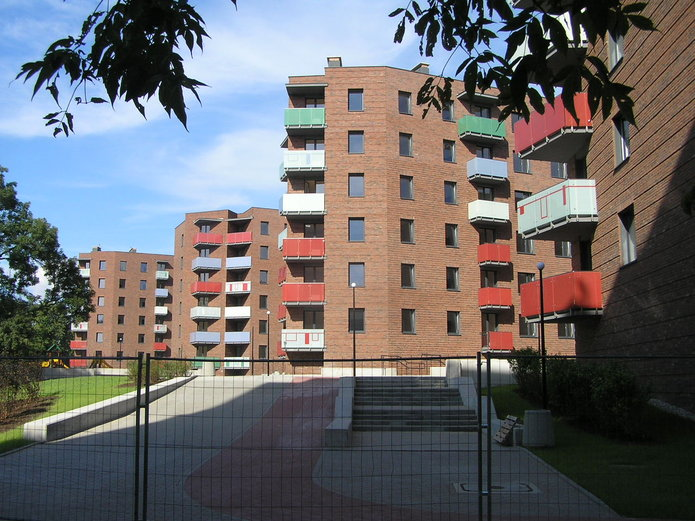 Bloki komunalne na Jagiellońskiej