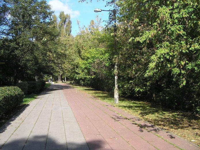 Ścieżka rowerowa przy ulicy Międzynarodowej