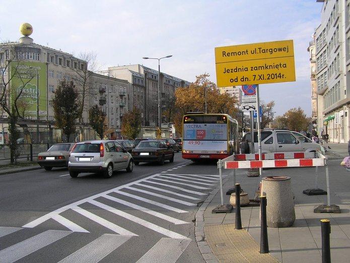Frezowanie ulicy Targowej