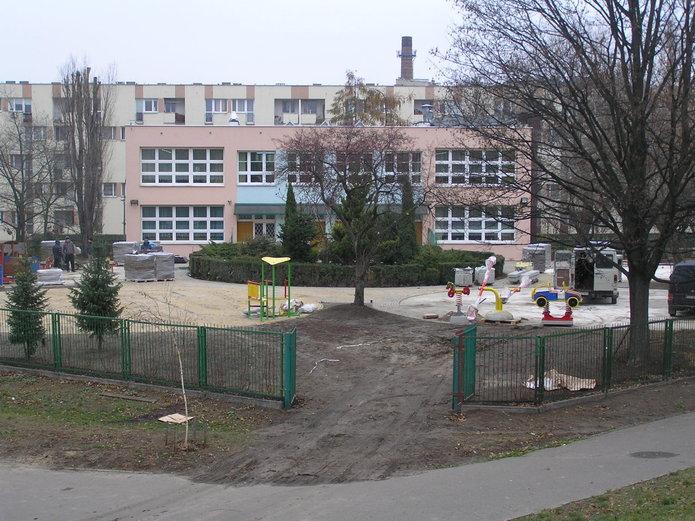 Modernizowane przedszkole nr 174 przy ul. Markowskiej