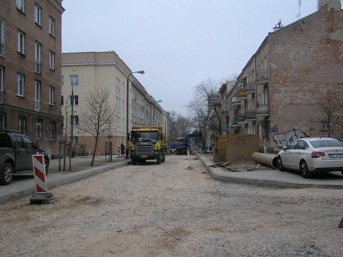 Przebudowa ulicy Kobielskiej