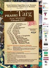 Targ Praski - plakat