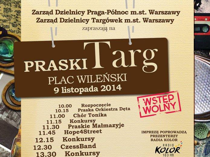 Targ Praski 9 listopada 2014 na Placu Wileńskim