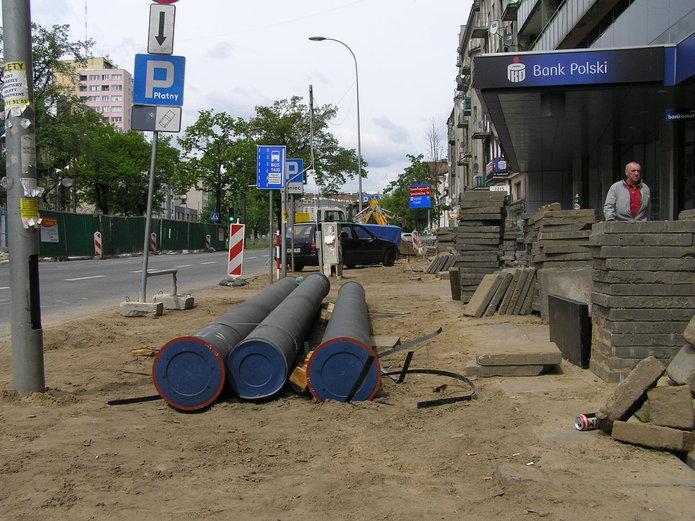 Przebudowa ulicy Targowej