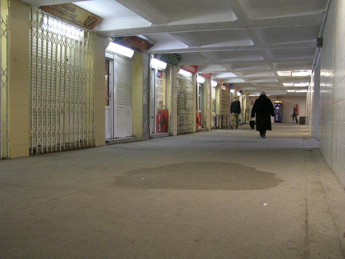 Przejście podziemne pod ulicą Targową