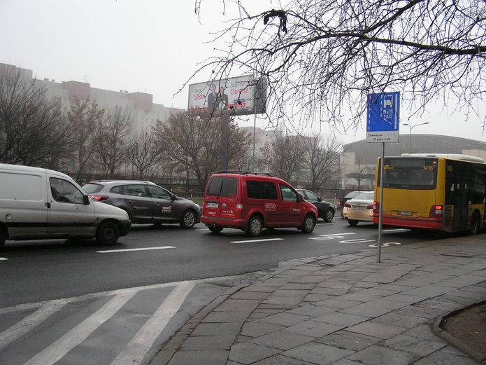 Miejsce po zlikwidowanym przejściu przy ul. Rzeszotarskiej