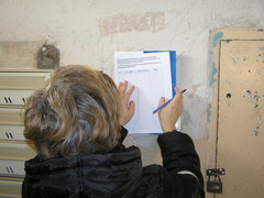Składanie podpisów pod petycją