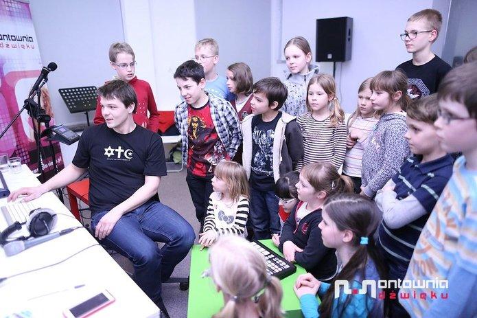 """""""Muzyczna Zima wMieście 2015"""" zPracownią Muzyczną """"Montownia Dźwięku"""""""