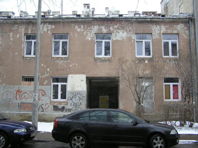 Kamionkowska 29 - budynek frontowy