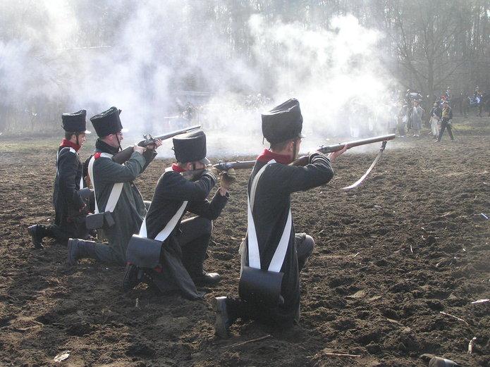 Inscenizacja bitwy oOlszynkę Grochowską