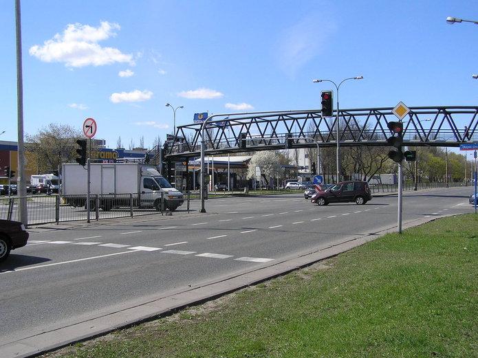 Skrzyżowanie Grochowskiej iJubilerskej/Olszynki Grochowskiej
